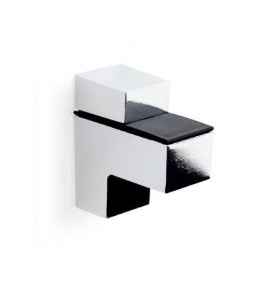 Soporte regulable para baldas de cristal y madera QUATRO M: con estilo decorativo