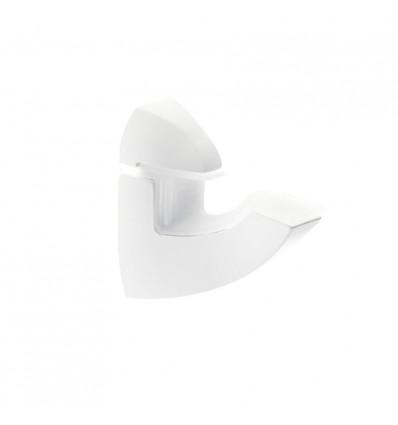 Soporte pelícano regulable para baldas de cristal y madera LADY SHOE L: con estilo funcional
