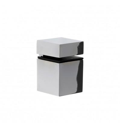 Soporte regulable para baldas de cristal y madera CUBE M: con estilo decorativo