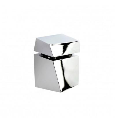 Soporte regulable para baldas de cristal y madera con estilo moderno
