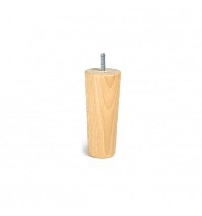 Pata de madera cónica
