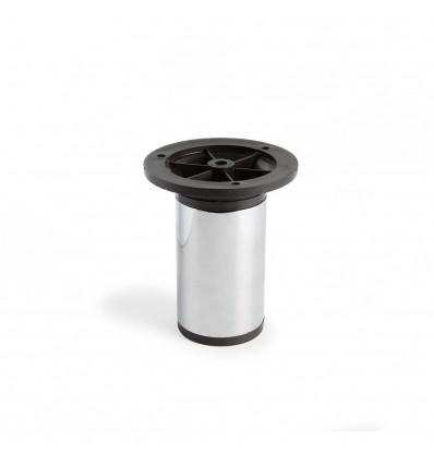 Pata extensible de acero cilíndrica