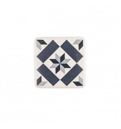 Pomo de estilo decorativo mosaico