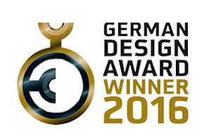 REI galardonado con el premio German Design Award en 2016
