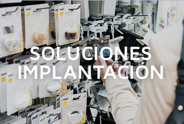 Soluciones para la implantación de los productos de REI
