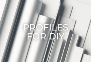 REI Aluminium profiles for diy section